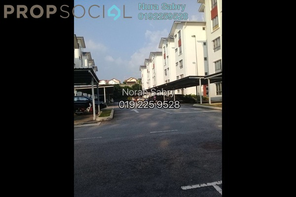 For Sale Apartment at Danau Seri Apartment, Sungai Buloh Leasehold Semi Furnished 3R/2B 320k