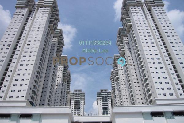 For Rent Condominium at Maxim Citilights, Sentul Leasehold Semi Furnished 3R/2B 1.6k