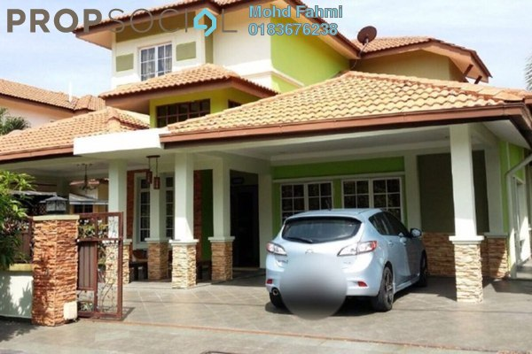 For Sale Bungalow at Seksyen 6, Bandar Bukit Mahkota Freehold Semi Furnished 5R/5B 1.5m