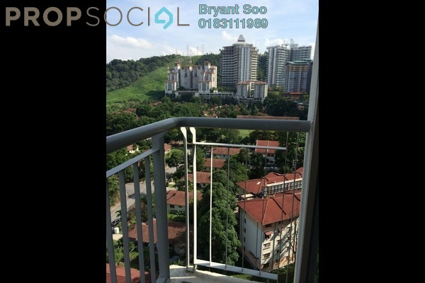 For Rent Condominium at Ritze Perdana 1, Damansara Perdana Leasehold Fully Furnished 1R/1B 2k
