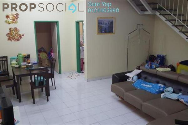 For Sale Terrace at Taman Desa Tebrau, Tebrau Freehold Semi Furnished 4R/3B 500k