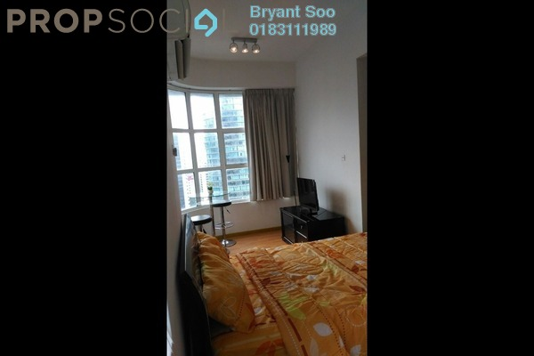For Rent Condominium at Park View, KLCC Freehold Fully Furnished 1R/1B 2.4k