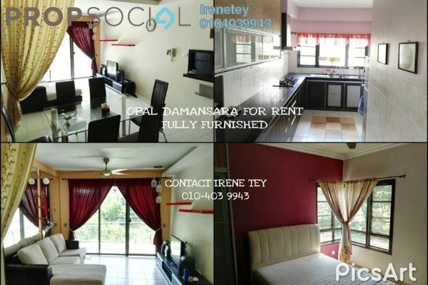For Rent Condominium at Opal Damansara, Sunway Damansara Leasehold Fully Furnished 3R/3B 2.3k