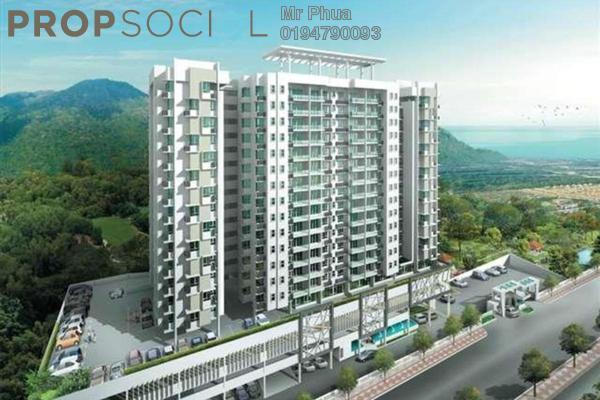 For Rent Apartment at D'Zone Condominium, Teluk Kumbar Freehold Unfurnished 4R/3B 1.5k