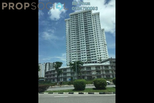 For Rent Apartment at Arena Residence, Bayan Baru Freehold Semi Furnished 3R/2B 2.2k