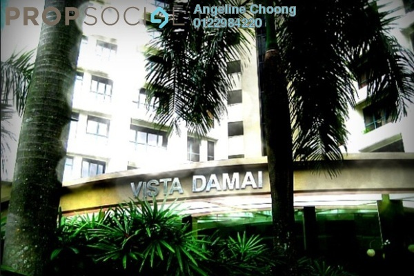For Rent Condominium at Vista Damai, KLCC Freehold Fully Furnished 2R/2B 2.7k