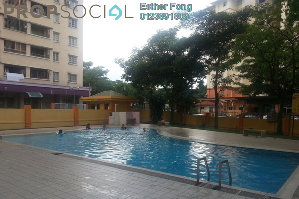 For Rent Apartment at Casa Magna, Kepong Leasehold Semi Furnished 3R/2B 1.15k