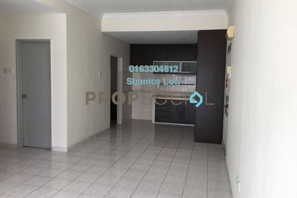 For Rent Apartment at Sri Cassia, Bandar Puteri Puchong Freehold Semi Furnished 3R/2B 1.1k