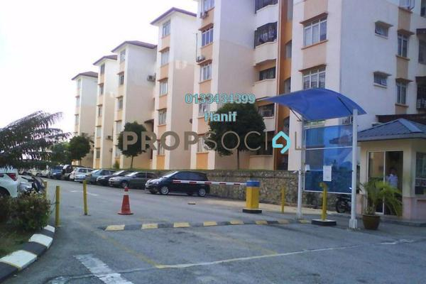 For Sale Apartment at Sri Melor Apartment, Ukay Leasehold Unfurnished 3R/2B 185k