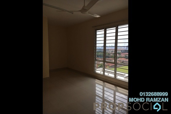 For Rent Condominium at Platinum Hill PV2, Setapak Freehold Semi Furnished 4R/2B 2k