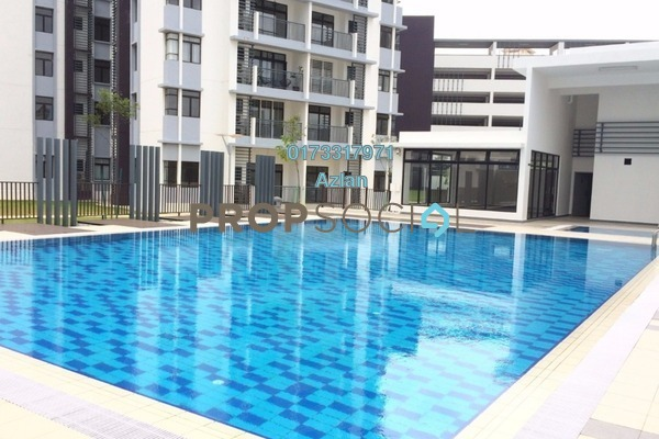 For Rent Condominium at Tamara, Putrajaya Freehold Semi Furnished 3R/2B 1.7k