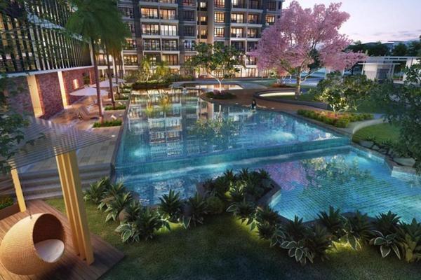 For Sale Condominium at Mutiara Heights, Kajang Freehold Semi Furnished 3R/2B 456k