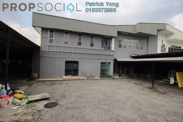 For Rent Factory at Serindit, Bandar Puchong Jaya Freehold Unfurnished 0R/4B 20k