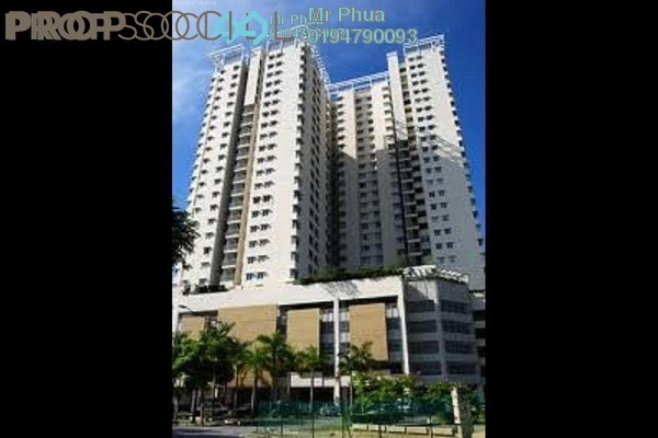 For Rent Condominium at Parkview Towers, Bukit Jambul Leasehold Fully Furnished 3R/2B 1.4k