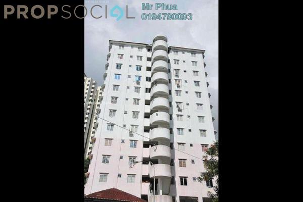 For Rent Apartment at Taman Lebah Hijau, Green Lane Freehold Fully Furnished 3R/2B 1.1k