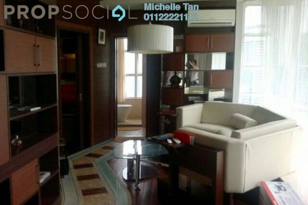 For Rent Condominium at Park View, KLCC Freehold Fully Furnished 1R/1B 3.2k