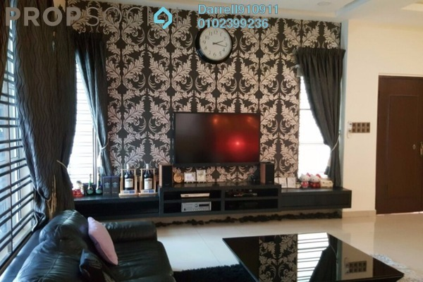 For Sale Semi-Detached at Perdana Residence 1, Selayang Freehold Fully Furnished 5R/4B 1.98m