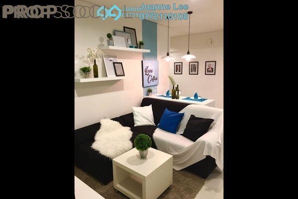 For Rent Condominium at Summer Suites, KLCC Leasehold Fully Furnished 2R/1B 3.4k