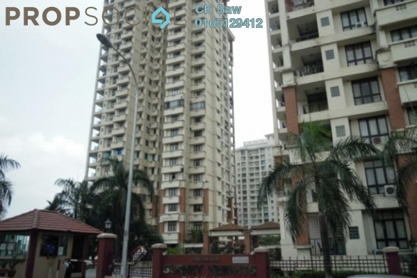 For Sale Condominium at Gurney Heights, Keramat Freehold Semi Furnished 3R/1B 370k
