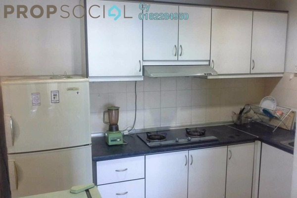 For Rent Condominium at Palm Spring, Kota Damansara Leasehold Fully Furnished 3R/2B 1.8k