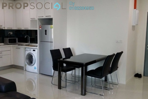 For Rent Condominium at Summer Suites, KLCC Leasehold Fully Furnished 1R/1B 2.7k