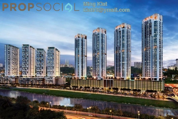 For Sale Condominium at Vivo Residential @ 9 Seputeh, Old Klang Road Leasehold Semi Furnished 3R/2B 762k