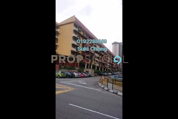 For Sale Apartment at Taman Connaught, Cheras Leasehold Unfurnished 2R/1B 145k