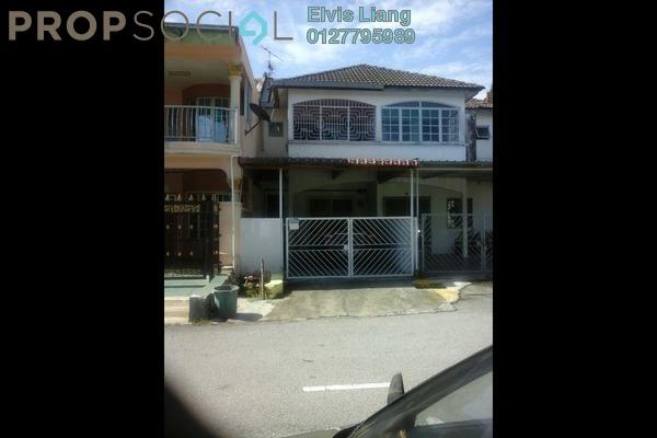 For Sale Terrace at Taman Sri Gombak, Batu Caves Freehold Semi Furnished 3R/2B 385k