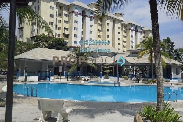 For Sale Condominium at Tasik Heights Apartment, Bandar Tasik Selatan Leasehold Unfurnished 3R/2B 270k