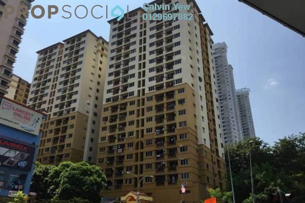 For Sale Apartment at Pelangi Damansara, Bandar Utama Leasehold Unfurnished 3R/2B 350k