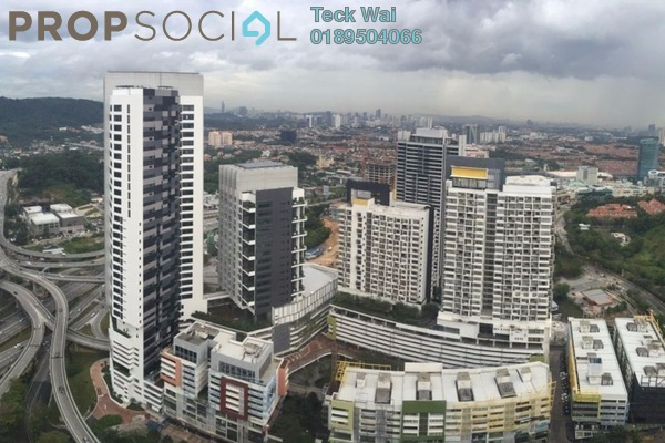 For Rent SoHo/Studio at Empire City, Damansara Perdana Leasehold Fully Furnished 0R/1B 1.35k