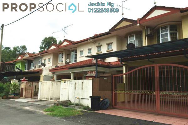 For Sale Terrace at Taman Cheras Hartamas, Cheras Leasehold Semi Furnished 4R/3B 520k