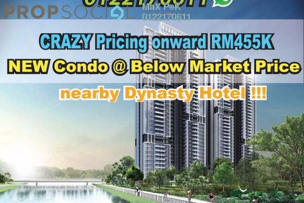 For Sale Condominium at Rica Residence, Sentul Freehold Unfurnished 2R/2B 555k