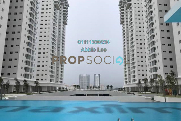 For Rent Condominium at Maxim Citilights, Sentul Leasehold Semi Furnished 2R/2B 1.2k