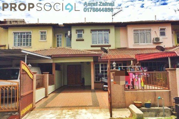 For Sale Terrace at Saujana Impian, Kajang Freehold Semi Furnished 4R/3B 500k