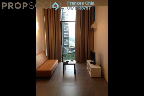 For Sale SoHo/Studio at Empire Damansara, Damansara Perdana Leasehold Semi Furnished 1R/1B 390k
