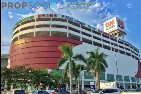 For Sale Shop at GM Klang, Klang Freehold Unfurnished 1R/1B 260k