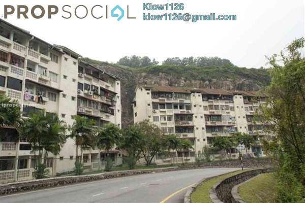 For Sale Apartment at Mutiara Court, Cheras Leasehold Semi Furnished 3R/2B 200k