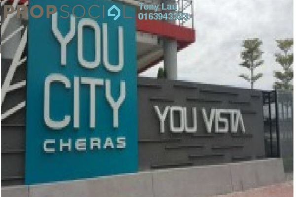 For Rent Condominium at You Vista @ You City, Batu 9 Cheras Freehold Semi Furnished 1R/1B 1.2k