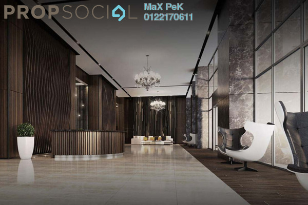 For Sale Condominium at The Manor, KLCC Freehold Semi Furnished 2R/2B 2.07m