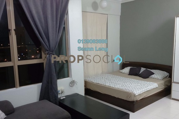 For Rent Condominium at Ritze Perdana 1, Damansara Perdana Leasehold Fully Furnished 1R/1B 1.3k