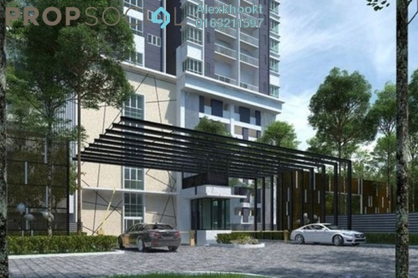 For Rent Condominium at DeSkye Residence, Jalan Ipoh Freehold Semi Furnished 3R/3B 1.6k