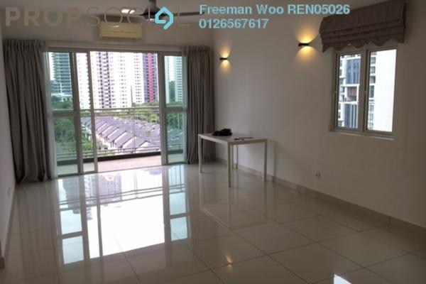 For Rent Condominium at Ceriaan Kiara, Mont Kiara Freehold Semi Furnished 3R/4B 4k