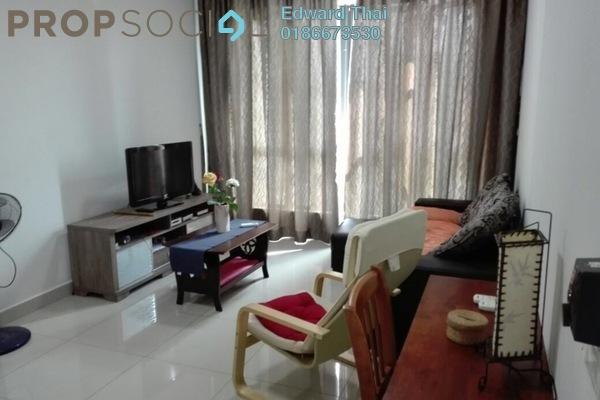For Rent Condominium at Univ 360 Place, Seri Kembangan Leasehold Fully Furnished 2R/2B 1.8k