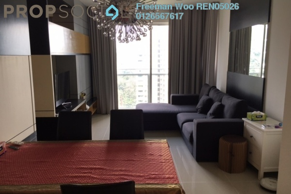 For Rent Condominium at VERVE Suites, Mont Kiara Freehold Fully Furnished 1R/1B 3.7k