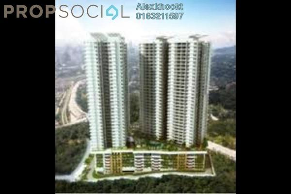 For Rent Condominium at Royal Regent, Dutamas Freehold Semi Furnished 2R/2B 1.6k