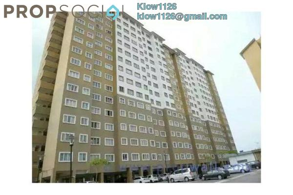 For Rent Condominium at Putra Suria Residence, Bandar Sri Permaisuri Leasehold Fully Furnished 3R/2B 1.6k