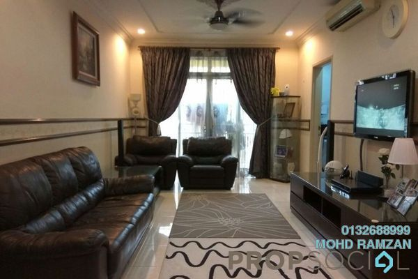 For Sale Condominium at Platinum Hill PV3, Setapak Freehold Fully Furnished 4R/2B 530k