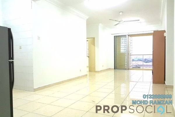 For Rent Condominium at Platinum Hill PV6, Setapak Freehold Semi Furnished 4R/2B 1.5k