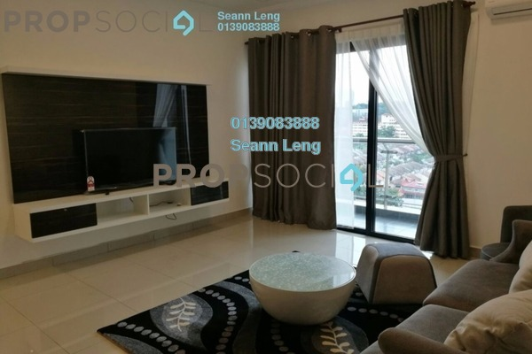 For Rent Condominium at Glomac Centro, Bandar Utama Leasehold Fully Furnished 3R/3B 3.25k